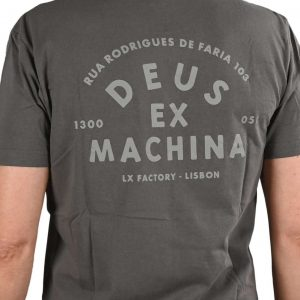 Deus-Ex-Machina-Landie T-Shirt Grey homme landrover
