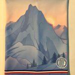MATTERHORN montagne neige tour de cou milf made in france neckwarmer polaire cache coup